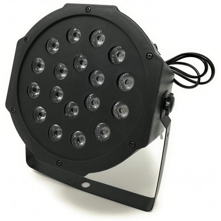 Faro Rgb 18W Faretto 18 Led...