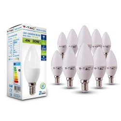 Set 10 Lampadine Led 4W...