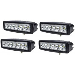 4x 18W Led Riflettore LED...