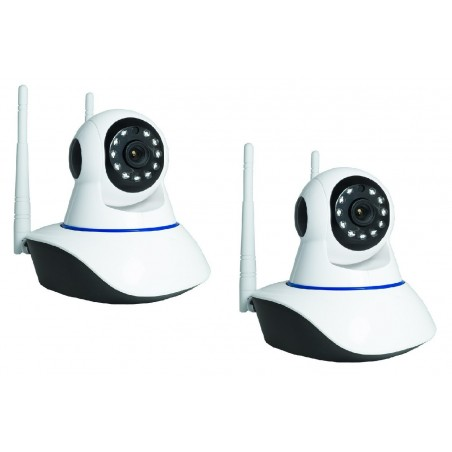 Kit 2 Telecamere Ip Camera...